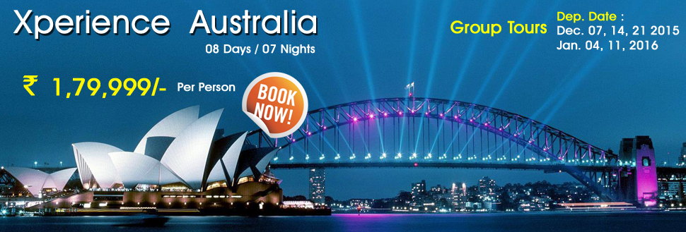 budget australia holiday packages from delhi india