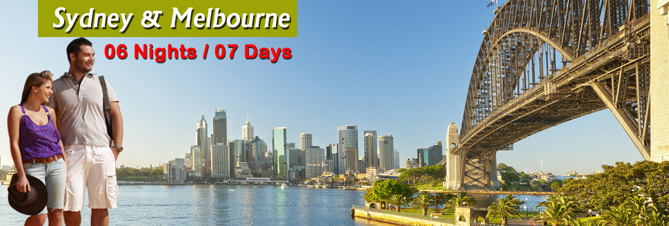 sydney melbourne holiday packages from delhi india